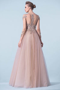 Tutu Prom Dresses with Applique