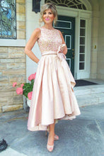 A-Line/Princess Asymmetrical Sequined Sleeveless Mother of the Bride Dresses