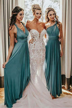 Elegant Chiffon Sleeveless Sash Bridesmaid Dresses