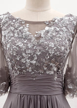 Chiffon 3/4 Sleeves Mother of the Bride Dresses