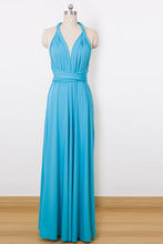 A-Line/Princess Sleeveless Convertible Bridesmaids Dresses