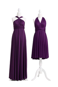 Chiffon A-Line/Princess Long Bridesmaids Dresses