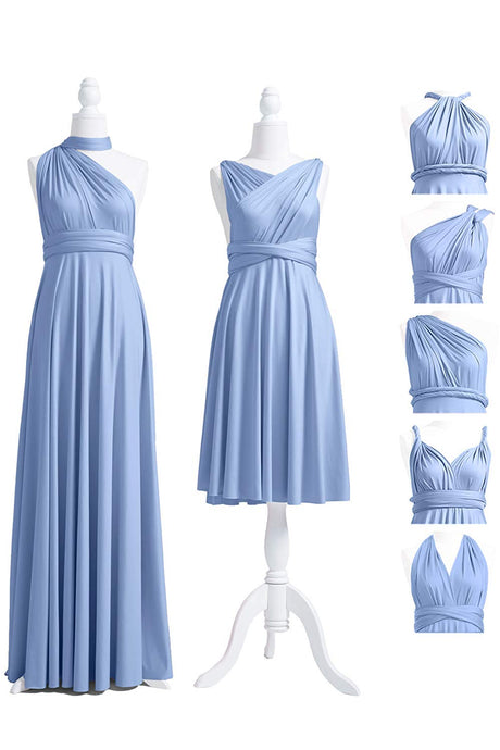 A-Line/Princess Floor-Length Sleeveless Bridesmaids Dress Holiday Dress