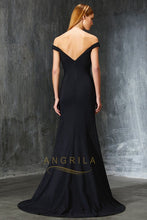 Sexy Trumpet/Mermaid Off-the-shoulder Long Formal Prom Dresses