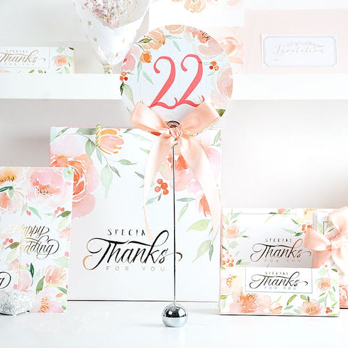 Floral Card Place Card Holder