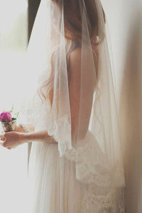 Short Lace Bridal Wedding Veils