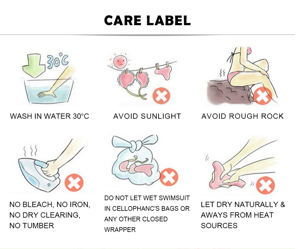 How to care best for swimsuits