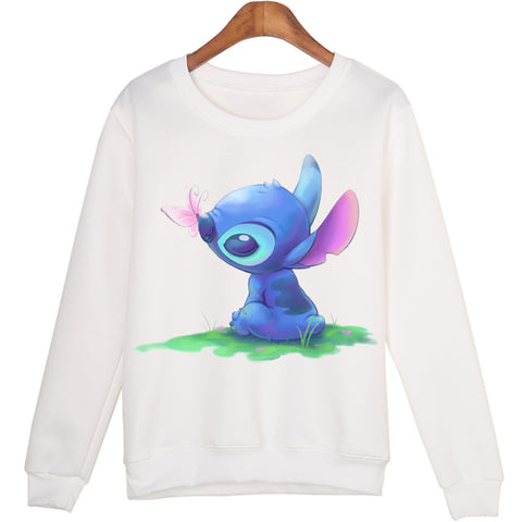 Cartoon graphics lightweight pullover sweatshirt Lilo & Stitch ~ 17 designs!