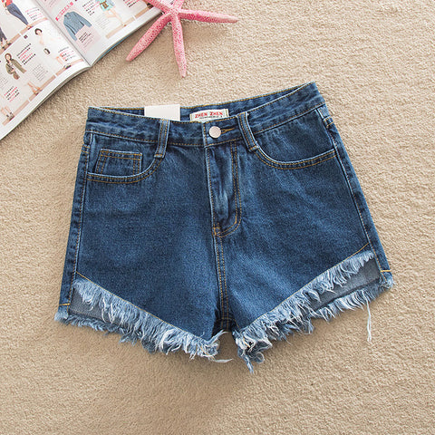 High wasted stoned washed shorts    GET THE LOOK!!