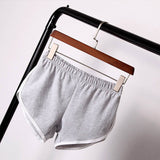 Casual cotton solid colors breathable elastic waist shorts ~ 7 colors!