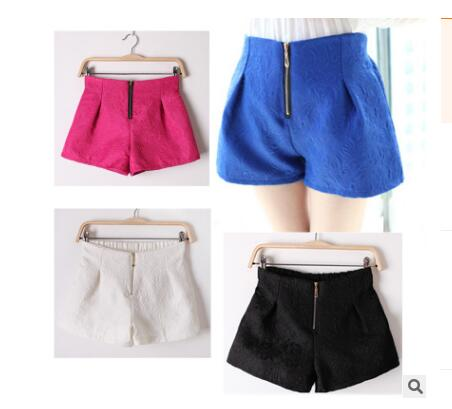 Dressy shorts with zipper front ~ 4 colors!