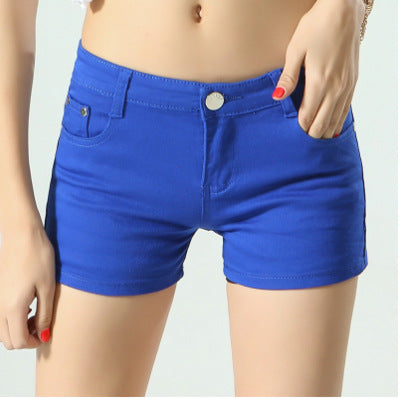 Above the knee shorts in 9 colors