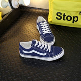 Vans look lace up canvas lace up front sneakers ~ 6 colors!