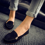 Slip-on moccasins / loafers in 4 colors