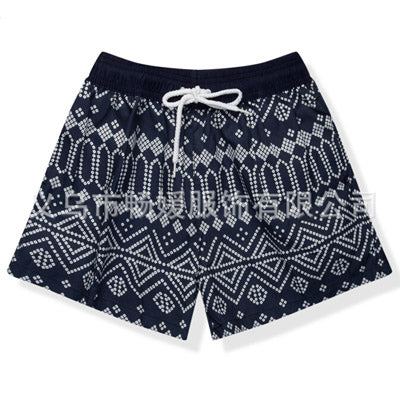 Board shorts swimwear with quick-drying material