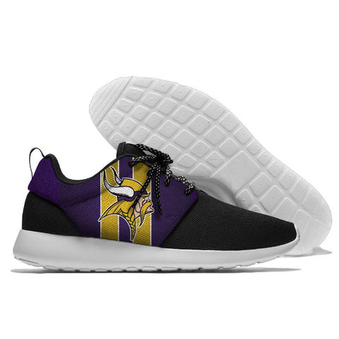 Minnesota Viking design NFL breathable tennis shoes