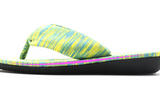 Supple soles casual colorful & fabric flip-flops
