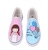 Hand-painted breathable canvas sneakers ~ multiple options