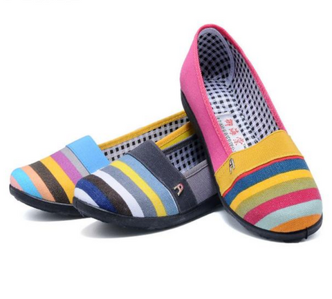Ethnic boho slip-on loafers ~ 5 designs!