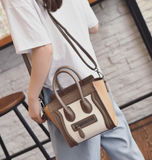 Trapeze tote in luxurious soft  leather ~ 5 colors