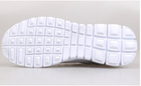 Lace-up breathable mesh tennis shoes