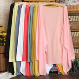 Long thin multi color options cardigan sweater  ~ 13 colors