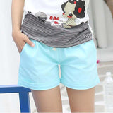 Cotton elastic drawstring waist shorts  ~ 11 colors!!!