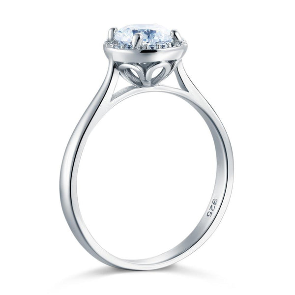 Halo 1 Carat Promise Ring