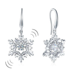 Swaying Stone, Earring, White Sapphire, jewelry, cheap jewelry, DBEJewels