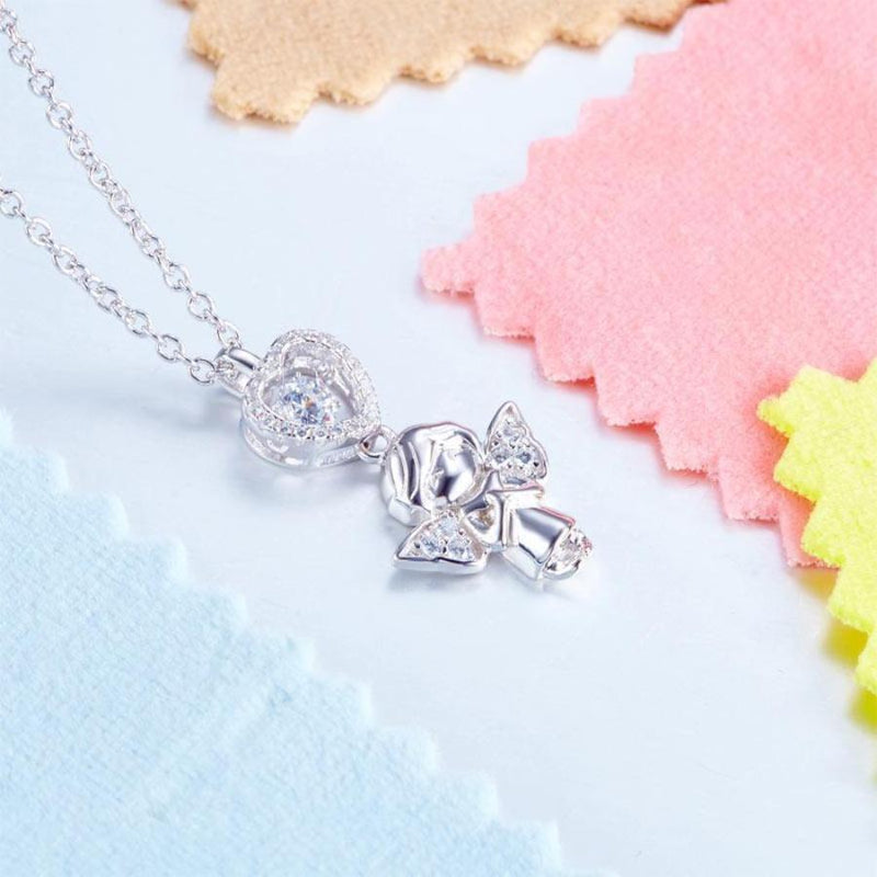 Swaying Stone | Heart Kids Necklace