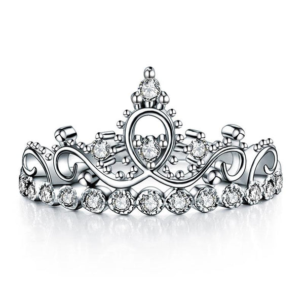 Promise ring, Statement, crown, fashion ring, nice, cute, studded, embedded, royal