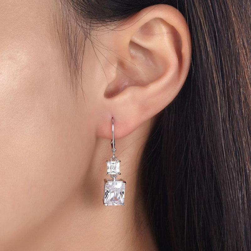 diamond earring, cheap jewelry, discount jewelry, dbejewels, white sapphires