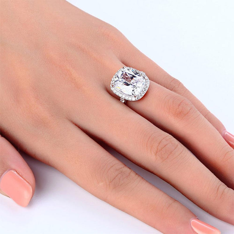 Engagement Ring, White Sapphire Ring, Discount Ring, diamond, jewelry