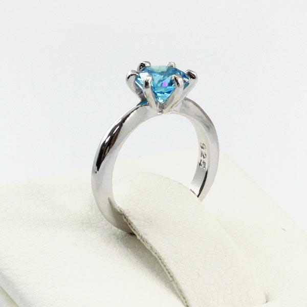 Newborn-Children Blue Crafted Sapphire Ring