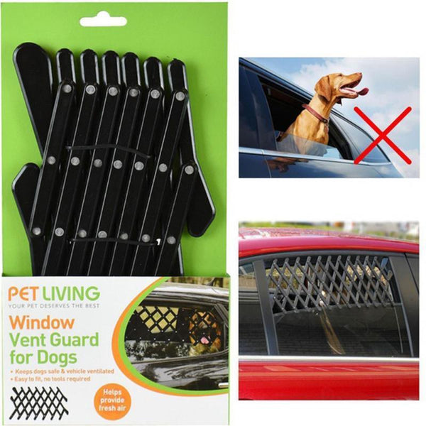 Adjustable Safety Car Window Dog Barrier-DogsTailCircle