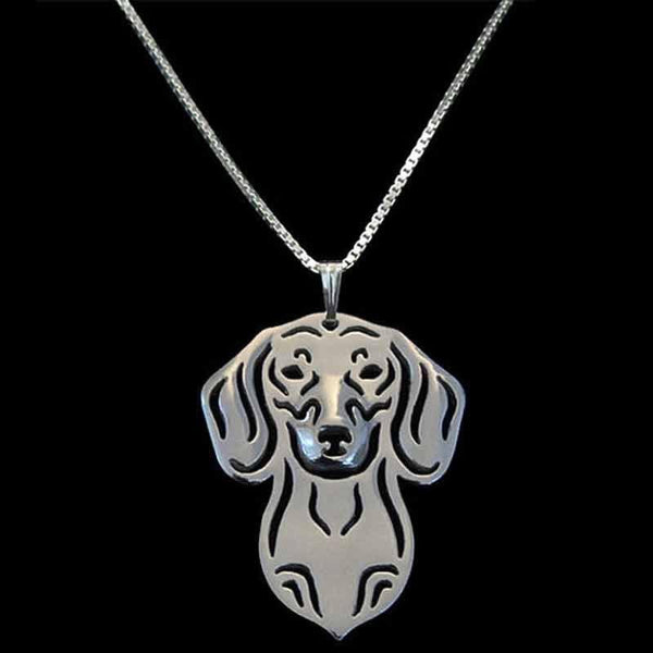 Britney Dog Necklace-DogsTailCircle