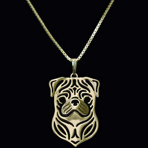 Collectable French Bulldog Necklace-DogsTailCircle