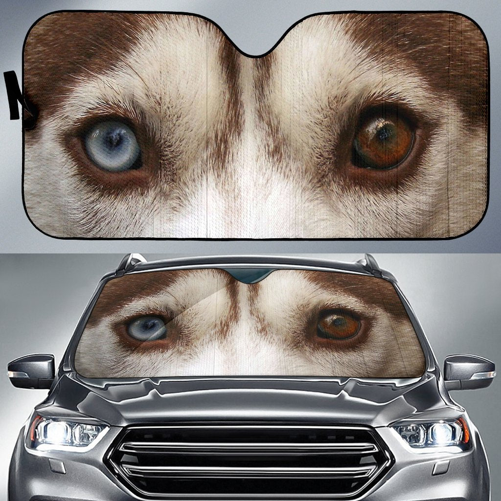 Dog Eyes - Car Sun Shaes-DogsTailCircle