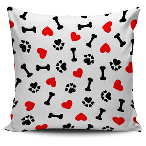Dog Love Pillow Cover-DogsTailCircle