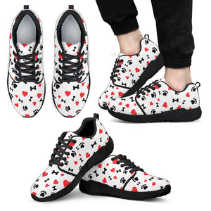 Dog Lovers Sneakers - Men's-DogsTailCircle
