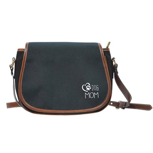 Dog Mom Saddle Bag - Black-DogsTailCircle