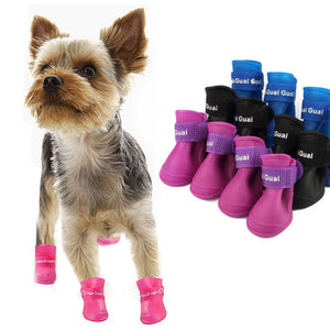 Dog's Anti Slip Waterproof Boots-DogsTailCircle