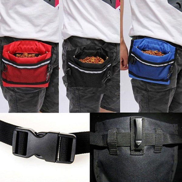 Durable Dog Treat Waist Training Bag-DogsTailCircle