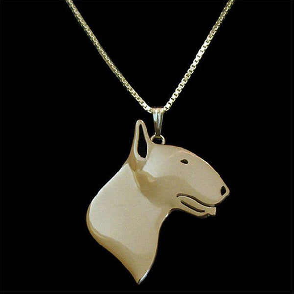 English Bulldog Necklace-DogsTailCircle