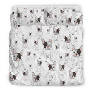 Frechie Dog Duvet Cover Set-DogsTailCircle