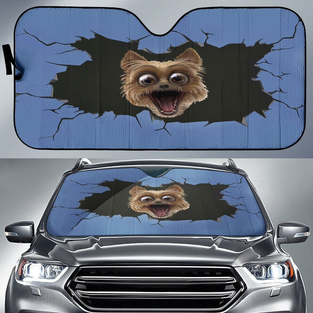 Funny Dog Sun Shades-DogsTailCircle