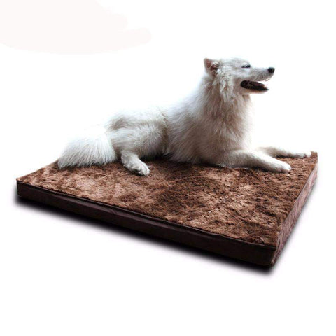 Orthopedic Double-Sided Fleece Dog Mattress-DogsTailCircle