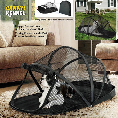 Portable Dog Kennel for small dogs-DogsTailCircle