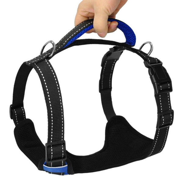 Quick Control Reflective No Pull Training Dog Harness-DogsTailCircle