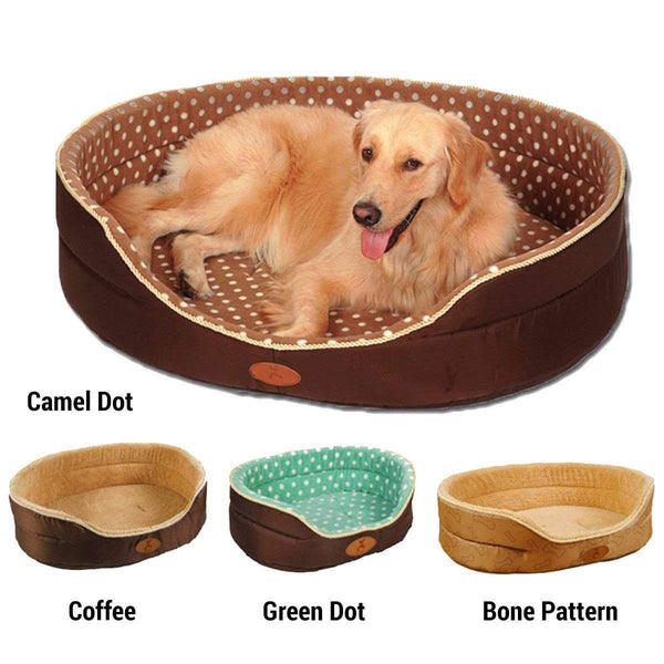 Reversible All Season Soft Dog Bed-DogsTailCircle